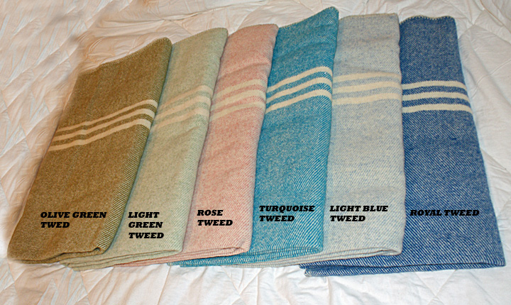 Little Brook Farm 187 Custom Made 100 Wool Blankets